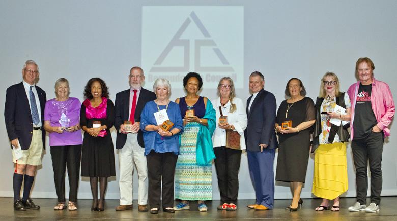 2017 Lifetime Award recipients and Founders Award recipients with The Hon. Zane DeSilva JP, MP