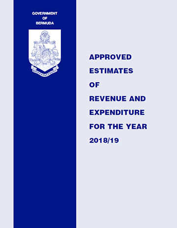 Approved Estimates of Revenue and Expenditures (Budget Book) 2018/19