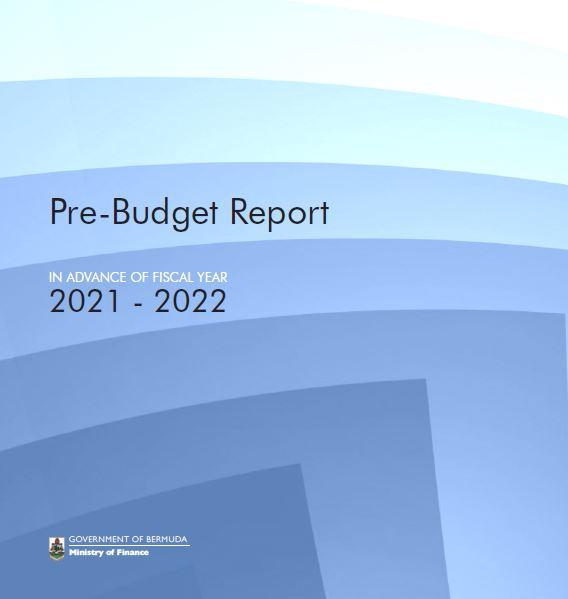 Pre-Budget Report 2021/22
