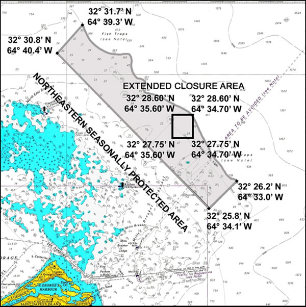 North east seasonally protected area
