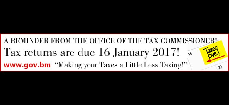 tax returns banner