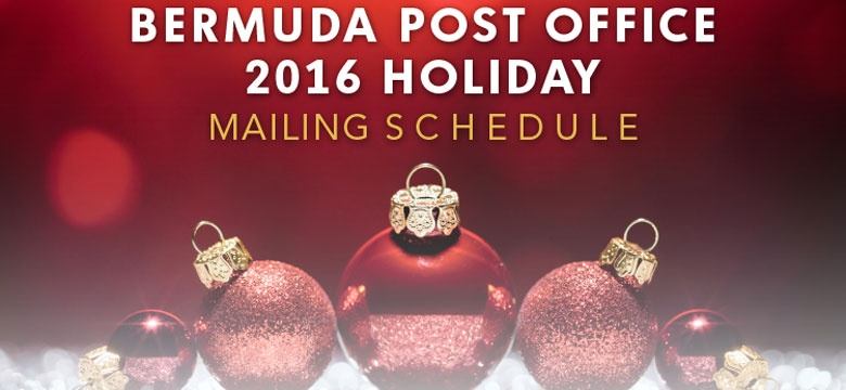 Holiday Mailer Schedule