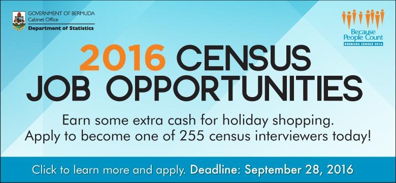 Census Job Opportunities banner
