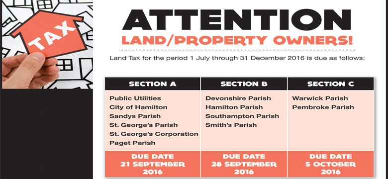 Attention land and property owners ad