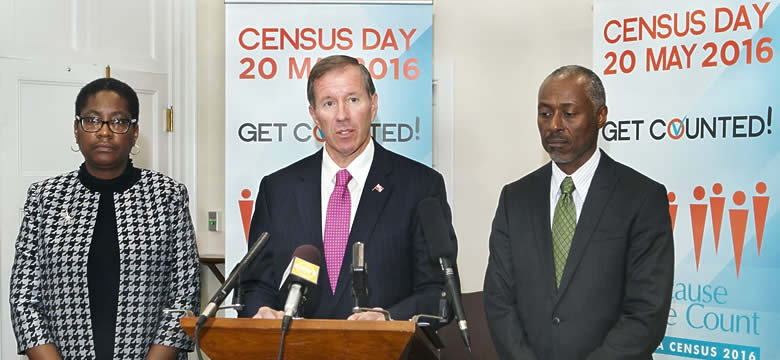 CENSUS DAY 2016, Premier of Bermuda The Hon. Michael H. Dunkley