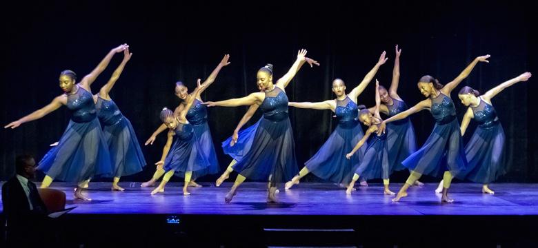 Students of the Bermuda Dance Academy