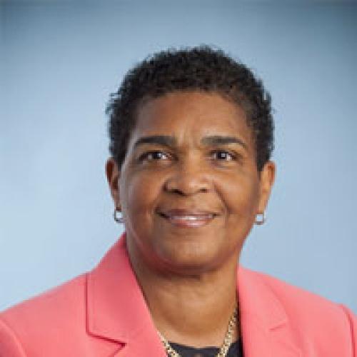 The Hon. Patricia J. Gordon–Pamplin, JP, MP.