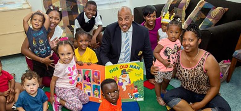 Minister of Education Visits Child Development Programme